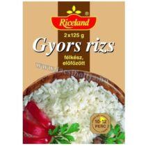 Riceland Gyors Rizs Előfőzött 2x125 g