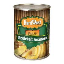 Hardwest Ananász szeletelt 565/340g