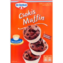 Dr. Oetker Muffin Alappor Csokis 350/345 g