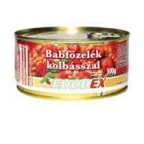 Foodex Babfőzelék Kolbásszal 300 g