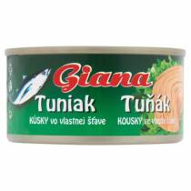 Giana Tonhal Darabok Saját Lében 185/130 g