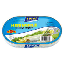 Losos Heringfilé Olajban 170 g
