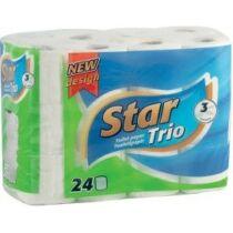 Star Trio Wc Papír 3R 24 tek