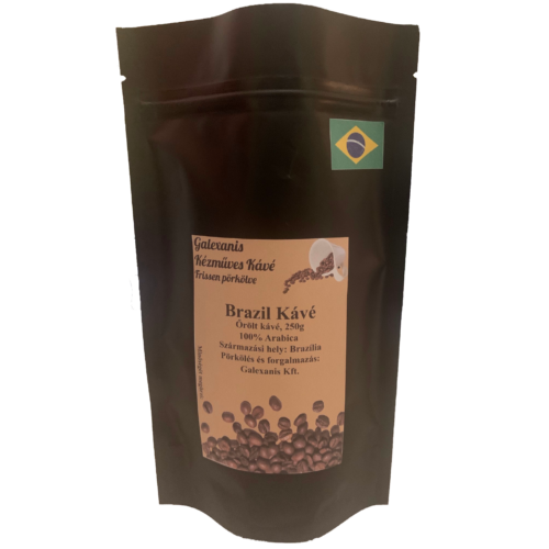 Brazil Kávé 100% Arabica Őrölt Kávé 250 g