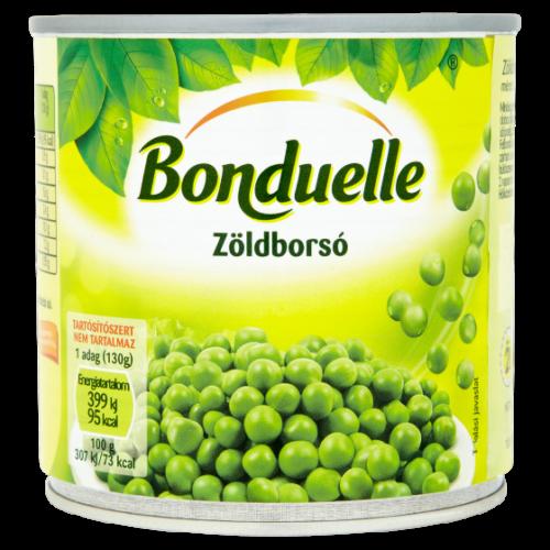 Bonduelle Zöldborsó 400/265 g