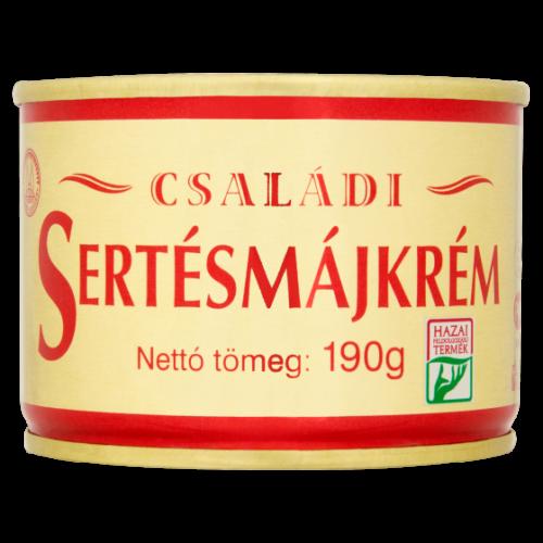 Családi Sertésmájkrém tpz. 190 g