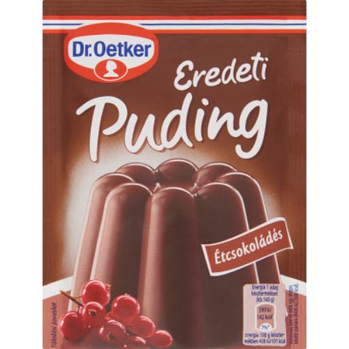 Dr. Oetker Puding Eredeti Étcsokoládé 52 g