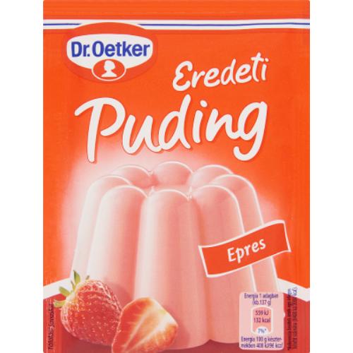 Dr. Oetker Puding Eredeti Eper 40 g