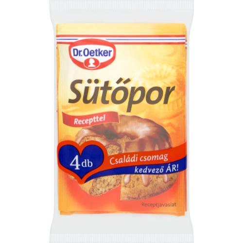 Dr. Oetker Sütőpor 4x12 g