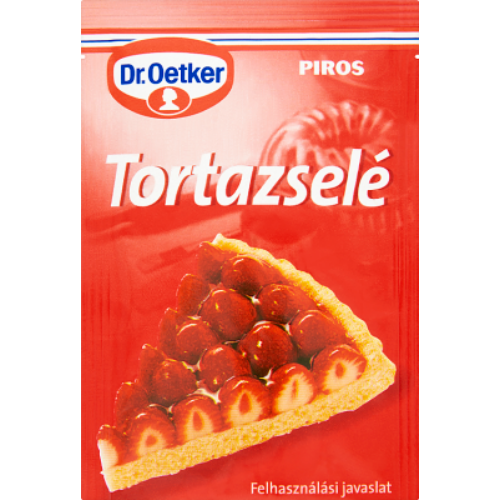 Dr. Oetker Tortazselé Piros 12 g