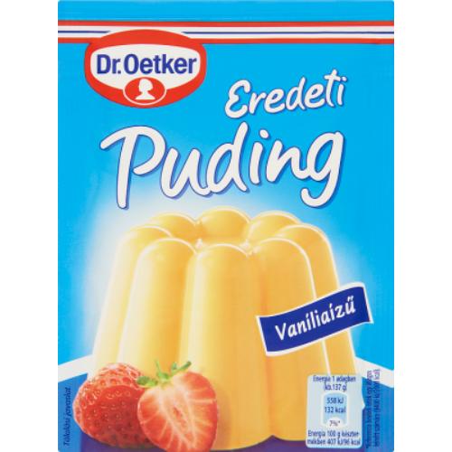 Dr. Oetker Puding Eredeti Vanília 40 g