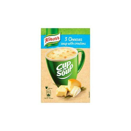 Knorr Instant Leves 3 Sajtos Krémleves 17 g