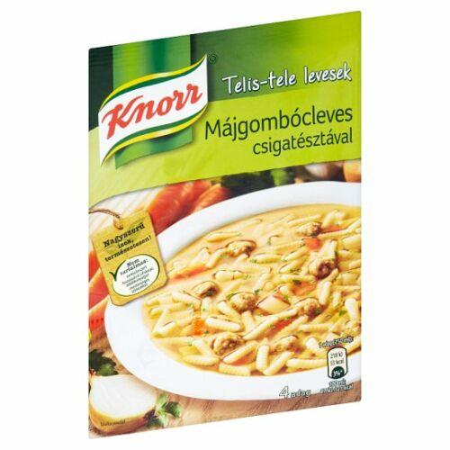 Knorr Telis- Tele Leves Májgombócleves 58 g