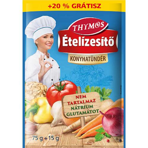 Konyhatündér Ételízesítő Gluténmentes 75 g + 20 %