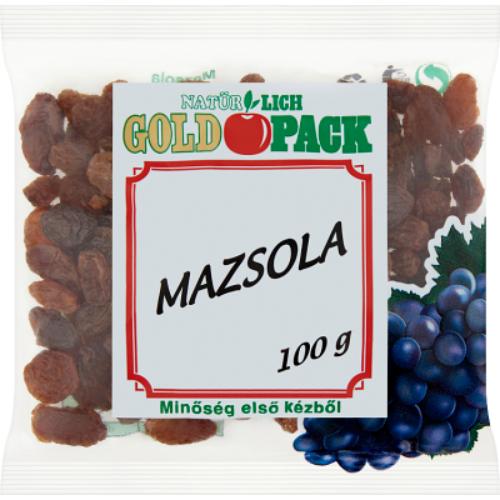 Gold Pack Mazsola 100 g