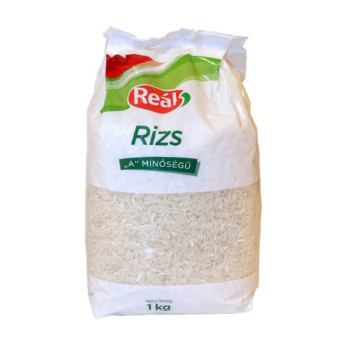 """Reál Rizs """"A"""" 1 kg"""