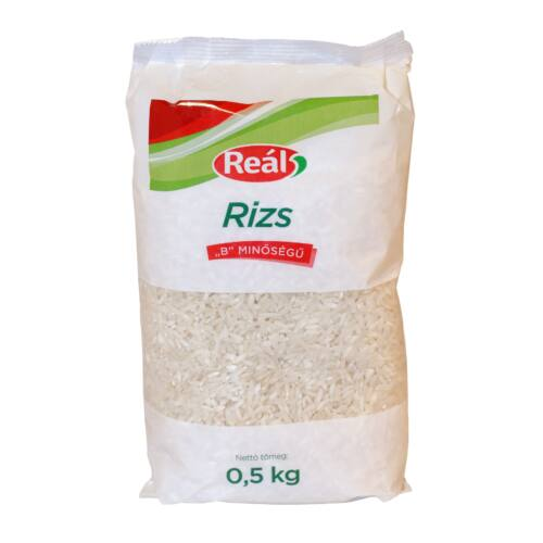 """Reál Rizs """"B"""" 0,5 kg"""