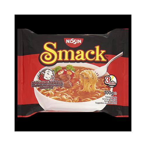 Smack Instant Tésztaleves Csípős Marha 100 g.