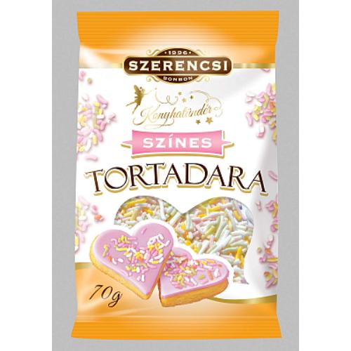 Konyhatündér Tortadara Színes 70 g