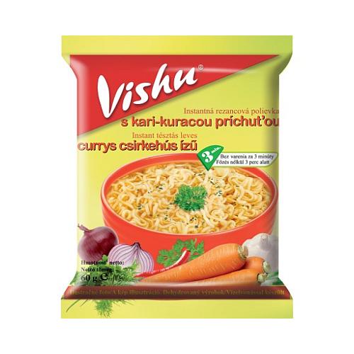 Vishu Instant Leves Currys Ízű 60 g.
